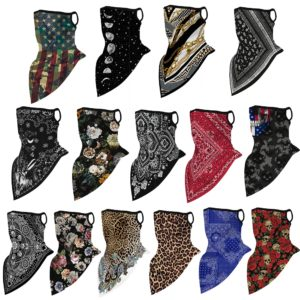 1PC Floral Print Multi-Function Scarf Neck Cover Face Mask Cycling Balaclava Bandana Scarf Cap Headwear Outdoor Sport Accessory