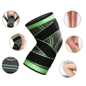 Sports Kneepad High Elastic Breathable Knee Pads Pressurized Elastic Support Fitness Gear Basketball Volleyball Brace Protector